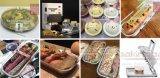Leistungsfähige bunte runde Muffin-Kuchen-Aluminiumfolie-Backen-Verpackungen