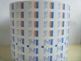 Papel impreso y cubierto de papel de aluminio para el tejido de la pista y de la limpieza de la preparación del alcohol \ el alcohol