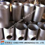 Te de la instalación de tuberías de la costura del acero inoxidable