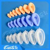 Vía aérea laríngea combinada PVC-Silicón de la máscara de la aprobación de la ISO del Ce