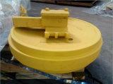 掘削機の土工の下部構造のGuiderの車輪の構築の予備品のためのPC200-5前部アイドラー