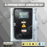 140kVA 50Hz 3 Phasen-schalldichter Typ elektrisches Dieselfestlegenset
