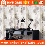 Blanco italiano del papel pintado de la importación del diseñador para el material de construcción