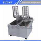 食糧機械装置の倍の電気フライヤー(DZL-082B)