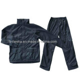 New Mens Polyester Oxford Waterproof Raincoat