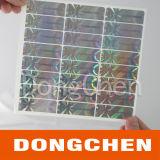 Стикер ярлыка Hologram обеспеченностью любимчика Анти--Подделывая