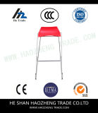 Hzpc167 새로운 플라스틱 의자 뒤 도금 발