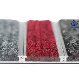 Del dispositivo de seguridad del diseño del marco del interior alfombra de aluminio de la estera de la entrada del resbalón no