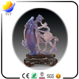 Ofícios relativos à promoção formais do cristal do estilo chinês do presente