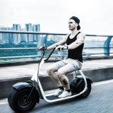 A motocicleta elétrica de Citycoco da maçaroqueira do vento parte a bicicleta elétrica