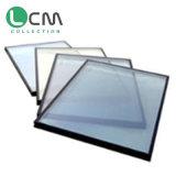 Vidro de vidro revestido de prata triplo dobro solar do edifício de Shanding único Baixo-e