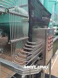 ligne de contrôle de l'acier inoxydable 316L tuyauterie enroulée