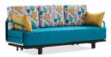 Фантастичной сложенная тканью кровать софы для живущий комнаты