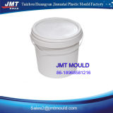 Molde plástico do balde com tampa