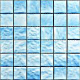 Qualità un disegno blu di colore del mosaico quadrato della piscina