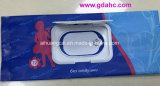 Bolso lateral del alimento de la bolsa de plástico del bolso de la servilleta de la ventana del escudete