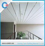 Los paneles medios del PVC del surco
