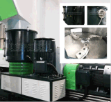 Singolo estrusore a vite che ricicla macchina in macchine di plastica di schiumatura del granulatore