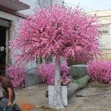 훈장을%s 인공적인 복숭아 꽃송이 나무