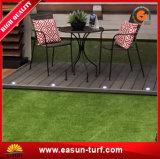 Prato inglese dell'erba del tappeto erboso di buona qualità artificiale per l'abbellimento del giardino