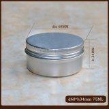 kosmetisches Sahnezinn der Aluminiumdosen-75g