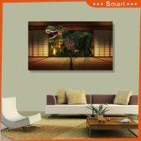 Домашняя слипчивая волшебная картина украшения динозавра 3D мира 3D напечатала на панели стены