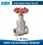 Válvula de porta do aço inoxidável de aço de molde