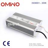 Fonte de alimentação Rainproof do excitador do diodo emissor de luz 250W