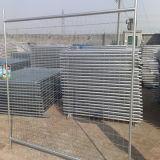 Горячий окунутый гальванизированный съемный портативный временно ограждать от фабрики