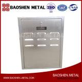 Pièces de machines de production métallique en acier inoxydable / boîte / cabinet en métal