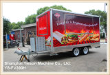 Reboque móvel Kebab Van da cozinha de Ys-Fv390h