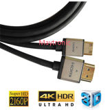 Cable de gama alta de HDMI 2160p Mini 4k
