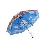 선전용 OEM 접히는 우산을 인쇄하는 최신 판매 좋은 품질