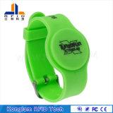 Wristband elegante flexible modificado para requisitos particulares del silicón de RFID