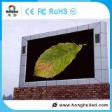 Alta visualizzazione di LED esterna di definizione P10 per fare pubblicità