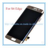 Передвижной франтовской агрегат индикаций экрана касания LCD сотового телефона для края галактики S6 Samsung плюс