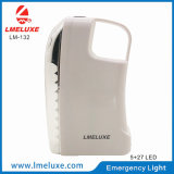 0.5W Sportlight de + luz Emergency recargable 27 PCS LED