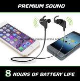 Mic를 가진 헤드폰 에서 귀 Earbuds가 Bluetooth 4.1 헤드폰 무선 입체 음향에 의하여