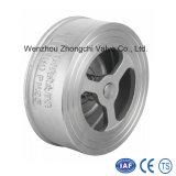 Clapet anti-retour de disque de l'acier inoxydable H71