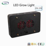 100PCS*10W l'alloggiamento nero LED si sviluppa chiaro per le piante commerciali