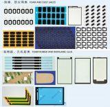 Juntas aprobadas del teléfono celular del CE que cortan estaciones de la máquina con tintas 3