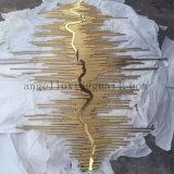 Décoration chaude d'art de mur d'acier inoxydable de métier en métal de produits