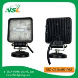 4 '' 15W LED Flood Beam Driving Light Offroad Jeep Truck Técnico Veículo Boat Fog Lamp SUV Acessórios para carro