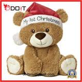 Игрушки рождества плюшевого медвежонка промотирования малышей продуктов младенца заполненные плюшем мягкие