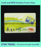Cr80ビジネスのための磁気ストライプとのプラスチックカードの標準