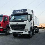 Howo-A7 12 Vrachtwagens van de Stortplaats van Wielen 8X4 met Euro III