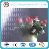 명확하거나 회색 또는 청동색 색깔을%s 가진 3-6mm 중국 장식무늬가 든 유리 제품