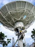 antenne satellite fixe de Rx de station terrestre de 9.0m seulement