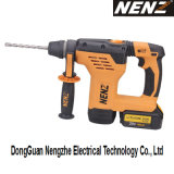 Nz80-01 SDS Plus Electrical Hammer met Li-IonenBattery en Dust Collection voor Decoration