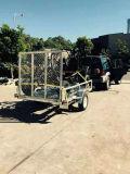 2017 8X5 Hete Ondergedompelde Gegalvaniseerde Aanhangwagen ATV/de Aanhangwagen van de Auto van het Nut